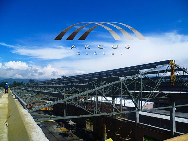 estructuras metalicas, techo plano o cubierta plana