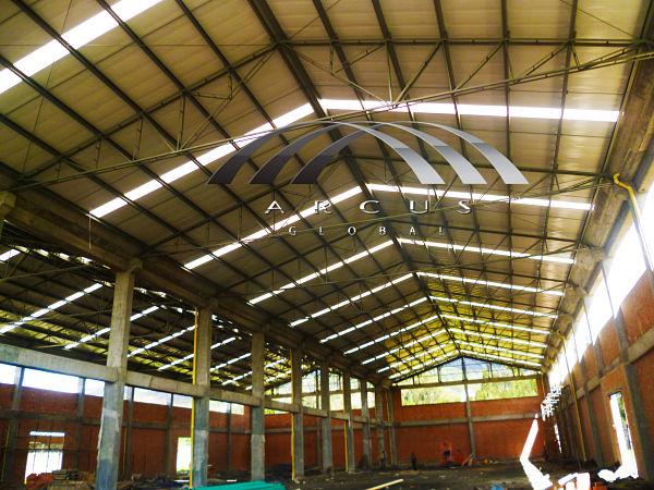 Techos o cubiertas planas sistema kr 18 arcus global - Cubiertas para techos ...