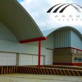 Arcotechos o techos autoportantes para bodegas