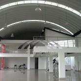 Arcotechos o techos para oficinas
