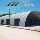 Arcotechos o techos sin estructura