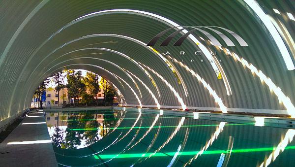 Arcotechos para piscinas o albercas
