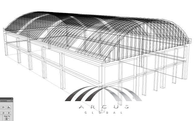 Detalles de cubiertas, perfil y vigas