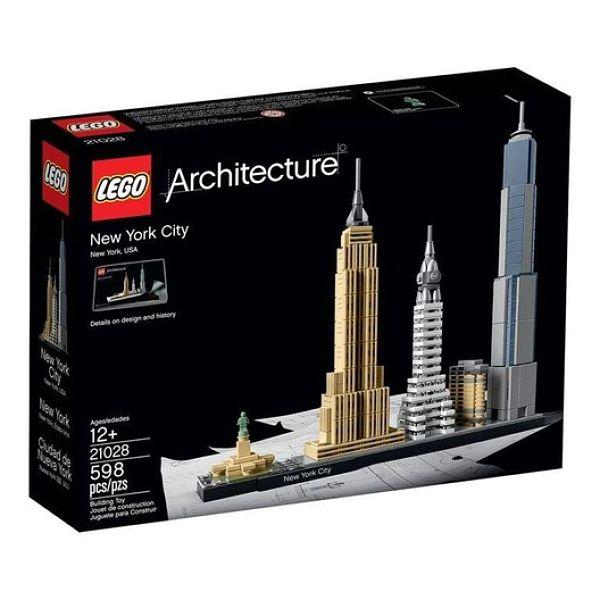 La arquitectura del mundo LEGO