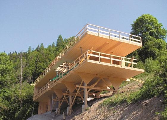 Uso de la madera en la construcción