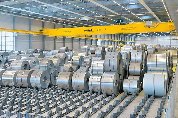 bobinas de acero