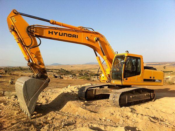 maquina de excavación, maquinaria de construccion