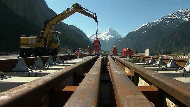 Túnel ferroviario más largo y profundo del mundo