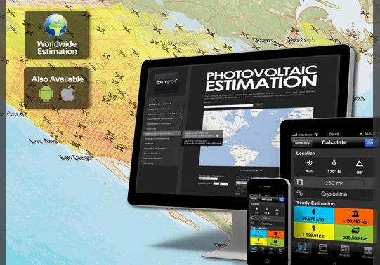 App para estimación fotovoltaica de una instalación