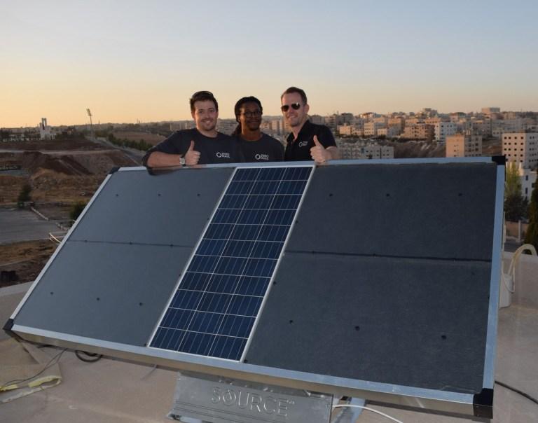Source panel solar