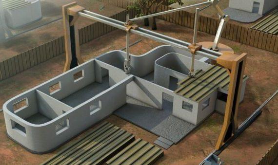 Impresión 3D mueve el rumbo de la construcción en China
