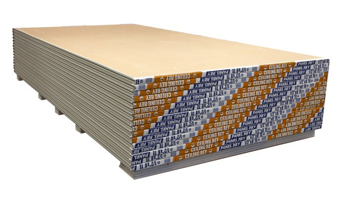 Ceiling Rey: panel de yeso reforzado