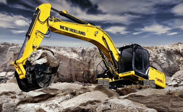 NEW_HOLLAND, excavadoras