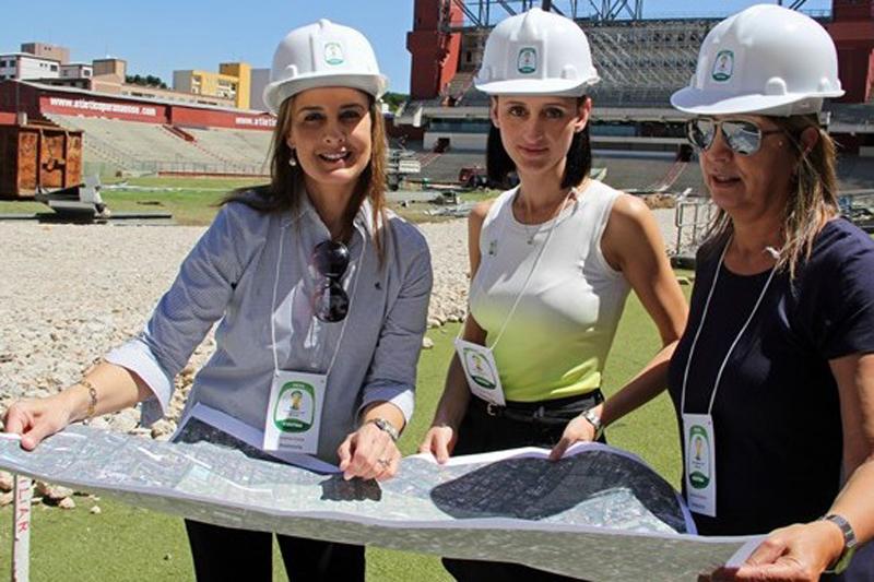 Mujeres en la construccion