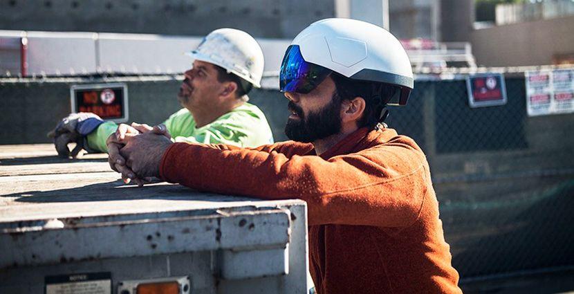 """Casco Inteligente para Construcción ? """"Daqri Smart Helmet"""""""