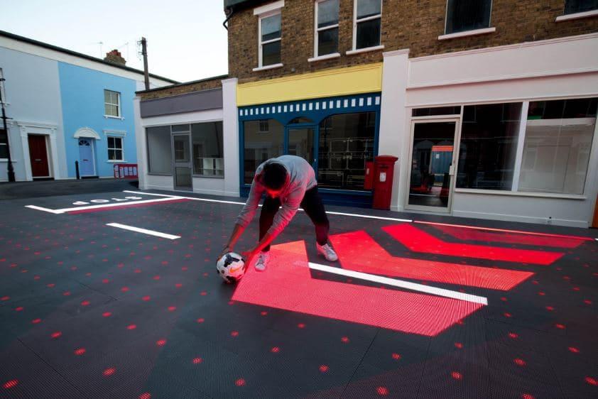 Avances en urbanismo: pasos peatonales interactivos