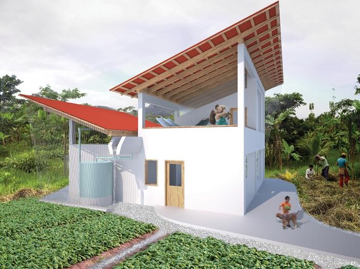 En Perú se construye un prototipo de vivienda sostenible