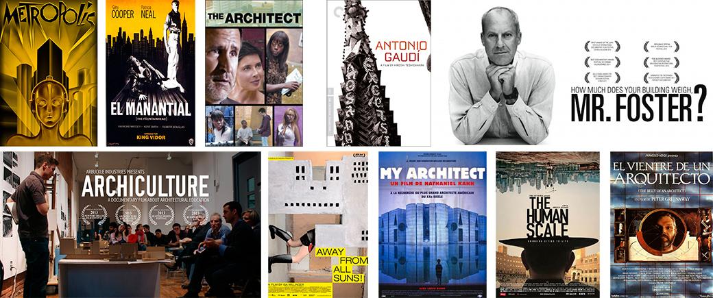¡10 películas para arquitectos!