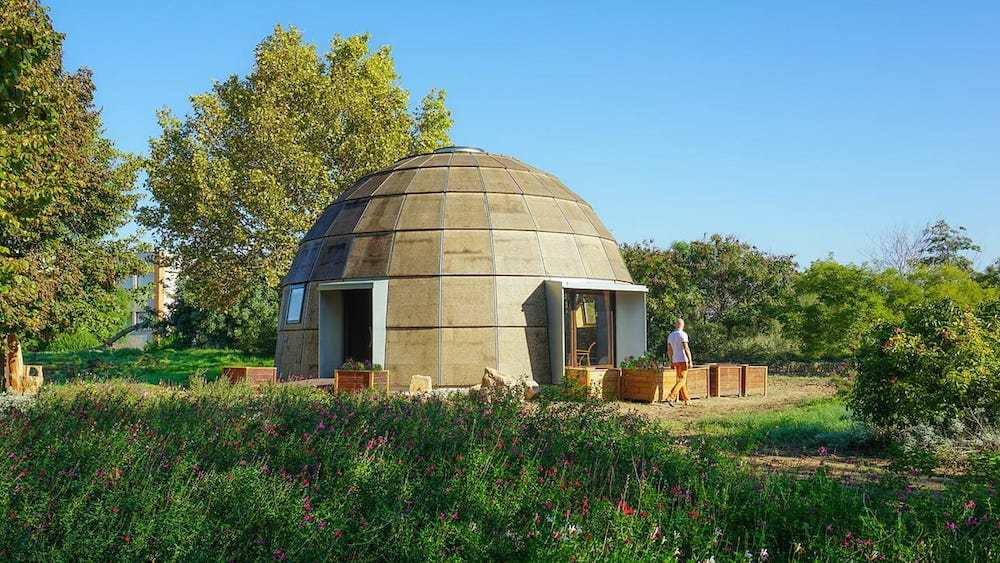 Monta tu propio domo ecológico: Chapeau Vert