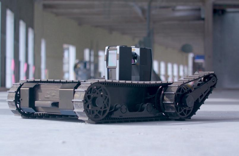 Robot detecta errores en obra en tiempo real