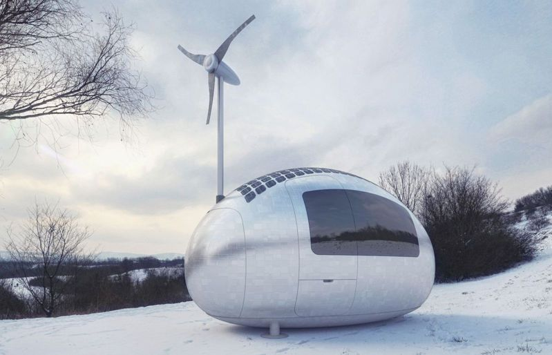 Micro apartamento portátil y ecológico