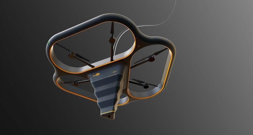 """Fly Elephant"" la impresora 3D capaz de volar"