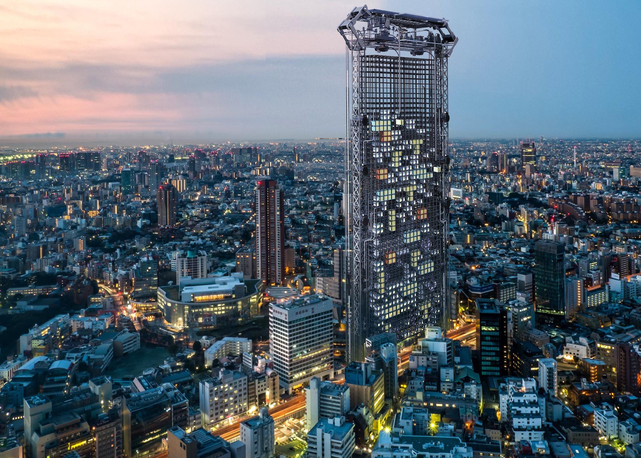 Rascacielos capaz de imprimir departamentos en 3D