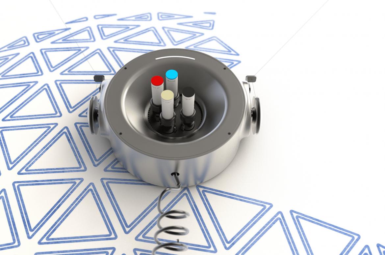 Scribit el robot que te ayuda a dibujar planos