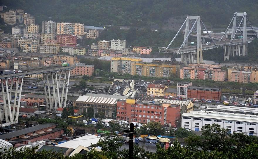 El caso del derrumbe del Viaducto Morandi