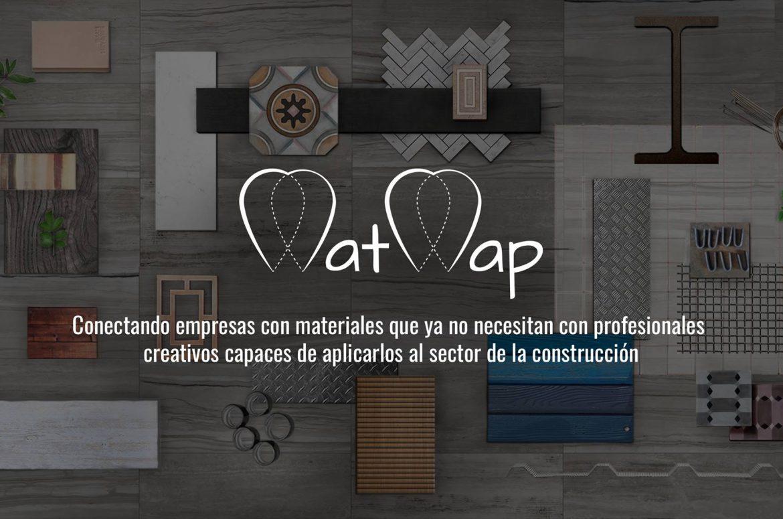 MatMap se encarga de reutilizar tus sobrantes de construcción