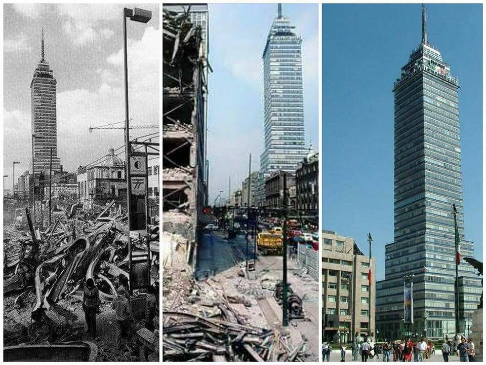 ¿Por qué resiste los sismos la Torre Latinoamericana?