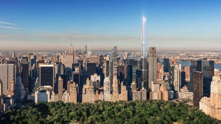 Central Park Tower el edificio residencial más alto del mundo
