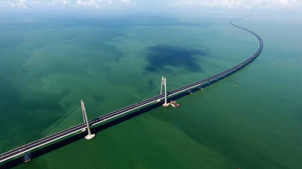 Se inaugura el puente más largo sobre agua en el mundo