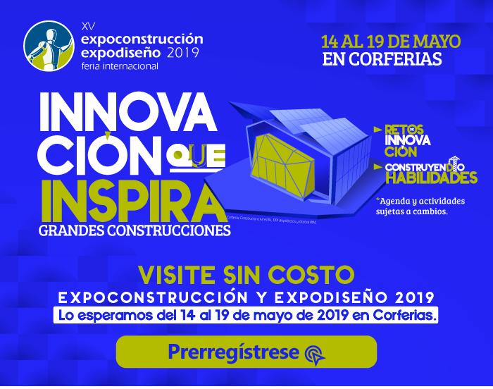 ¡Arcus Global en Expoconstrucción y Expodiseño 2019!