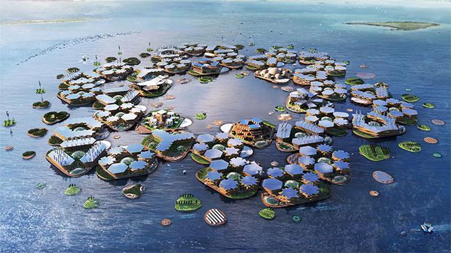 Oceanix: la primer ciudad flotante del mundo