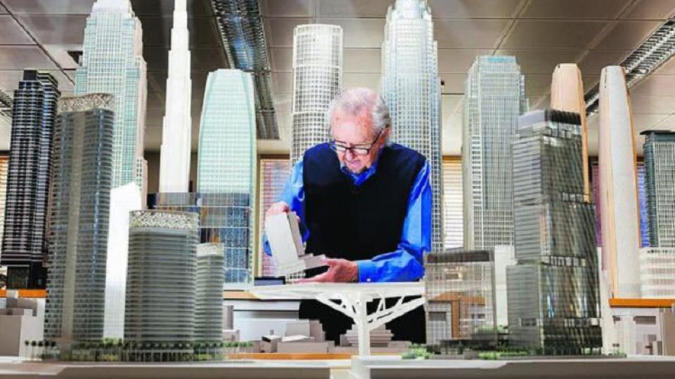 Murió César Pelli, el arquitecto latino que marcó el siglo XX