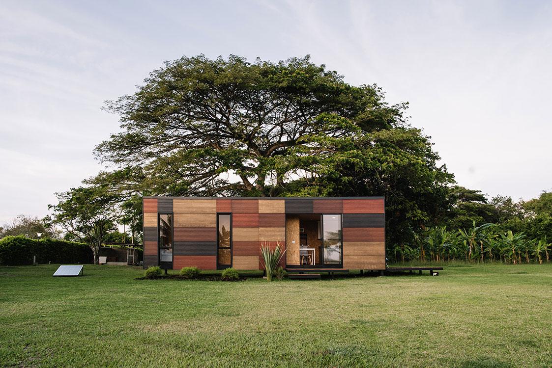 Casas prefabricadas y portátiles en Colombia