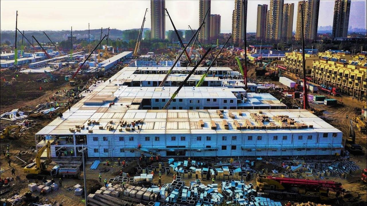 ¡Completada la construcción del Hospital en China!