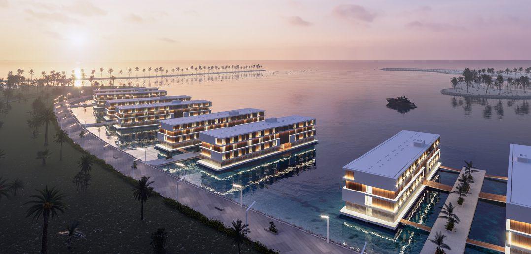 Qatar construye hoteles flotantes camino al Mundial 2022