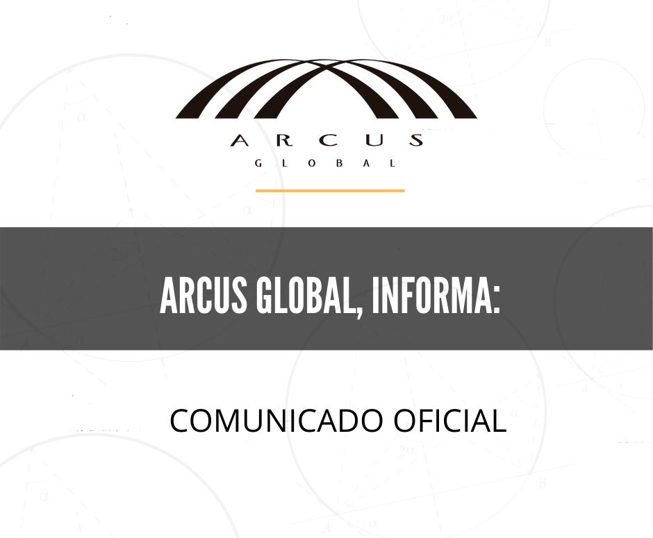 Comunicado oficial de Arcus Global por contingencia de COVID19