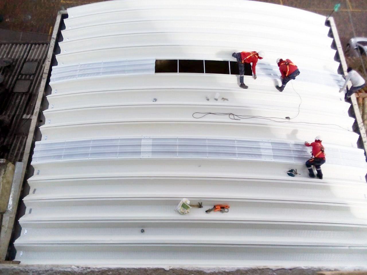 Galería | Servicio de mantenimiento a cubiertas autoportantes