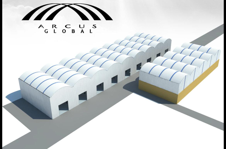 Galería | Arcotechos para parques industriales
