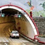 Mega túnel la Línea en Colombia