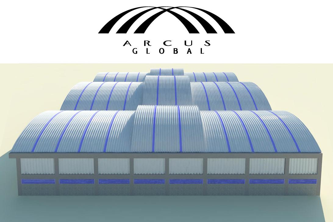 Bodegas y almacenes con techos autoportantes