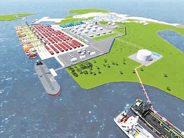 Construyen una terminal especializada en hidrocarburos en Buenaventura